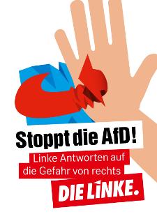 """""""Stoppt die AfD"""" – Broschüre"""