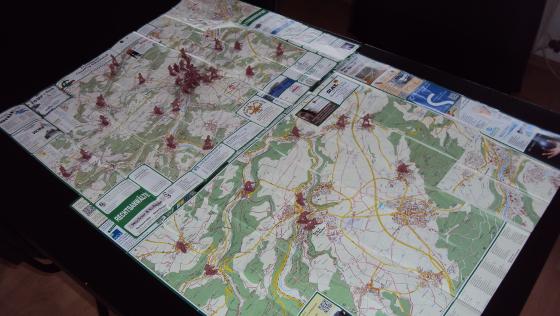 Orte um Sulz (1:23.500) und Horb (1:25.000)
