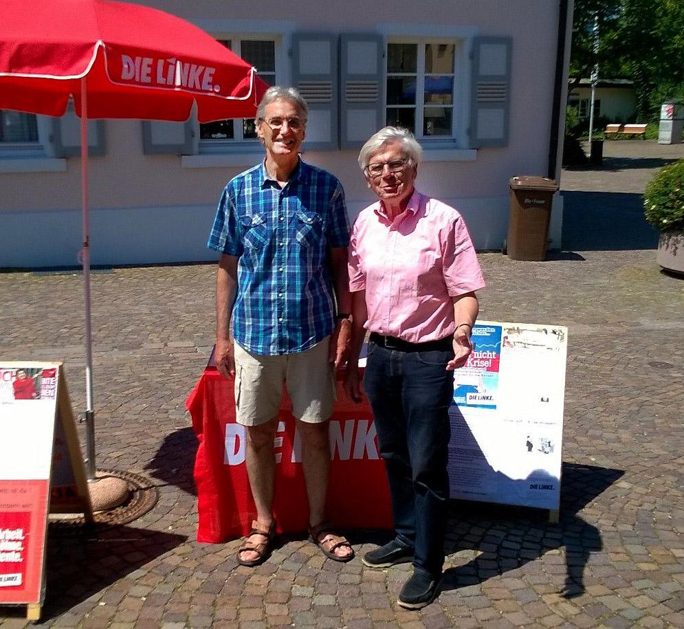 Lothar Schuchmann und Gerhardt Steinhart