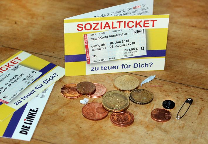 Sozialticket zu teuer für dich