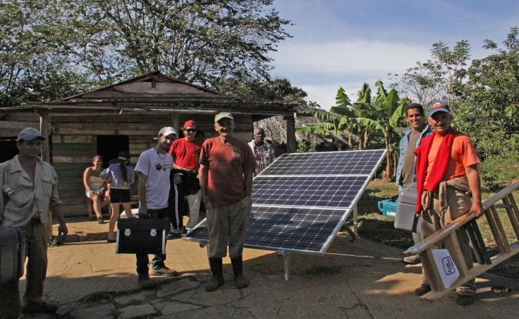 Kuba solar