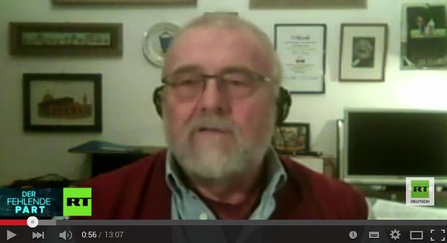Rainer Rupp, Journalist und Geheimdienstexperte