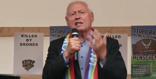 Stopp-Ramstein-Rede von Oskar Lafontaine in Kaiserslautern am 11. Juni 2016