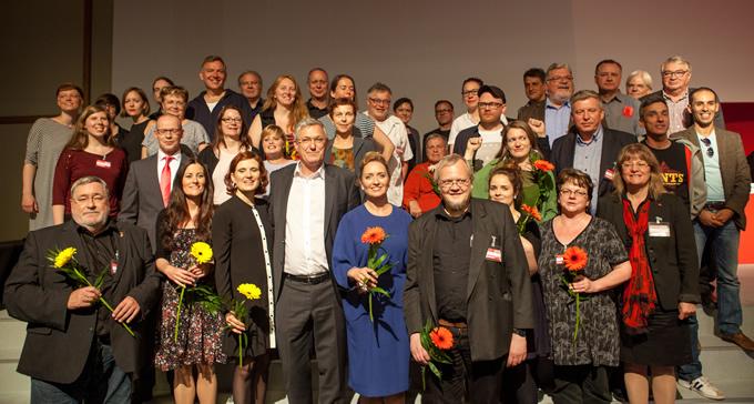 Der Parteivorstand ist laut Bundessatzung das politische Führungsorgan der Partei. Er leitet die Partei. Der Parteivorstand wurde auf der 1. Tagung des 5. Parteitag am 28. und 29. Mai 2016 in Magdeburg gewählt.