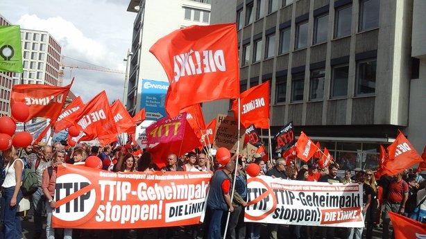 """Auch die Mitglieder des Kreisverbandes fordern: """"TTIP und CETA """""""