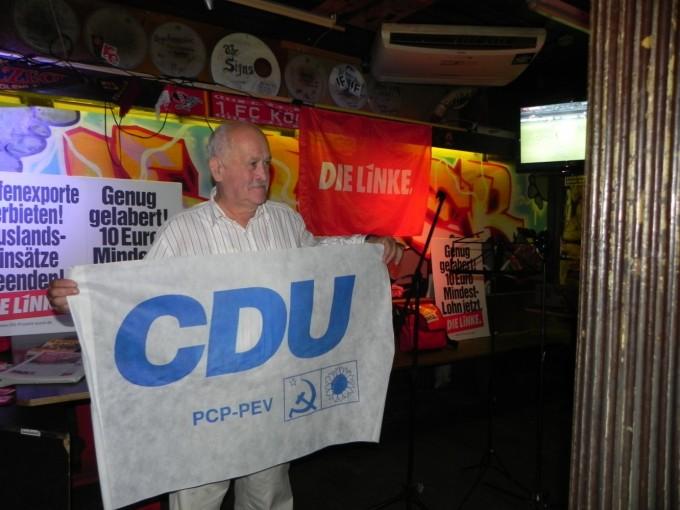 Peter macht CDU-Werbung