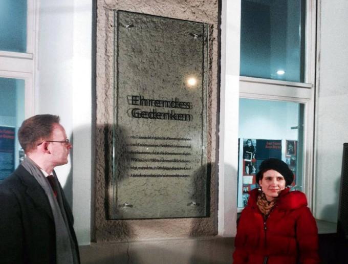 Bundesgeschäftsführer Matthias Höhn und Katja Kipping
