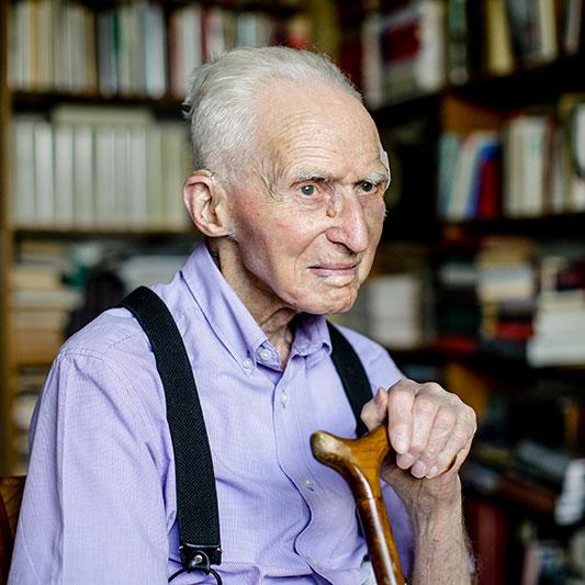 Schreibt noch Bücher und geht demonstrieren: Theodor Bergmann