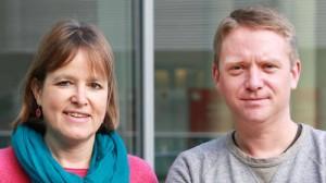 Heike Hänsel und Jan Korte, Stellvertretende Vorsitzende der Fraktion DIE LINKE im Bundestag