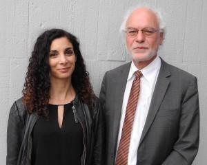 Die beiden Einzelstadträte der Linken Liste, Jessica Tatti und Thomas Ziegler, würden gerne eine Fraktion werden. GEA-FOTO: IGL