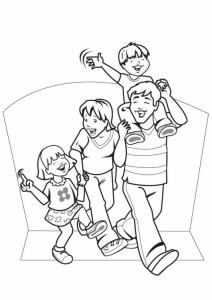 Schul-familie