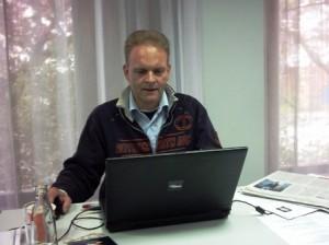 im Pressecenter Rostock