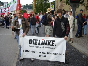 Thomas Mitsch und Felix Heil