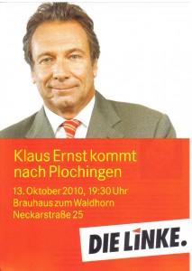 Klaus Ernst kommt nach Plochingen