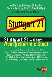Buch Stuttgart 21
