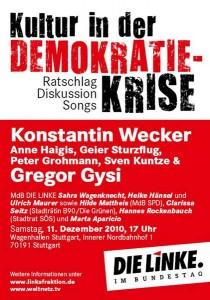 Kultur in der Demokratie Krise