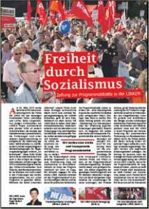 Zeitung Freiheit durch Sozialismus