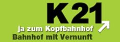 K 21 Bahnhof mit Vernunft