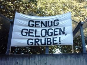 Genug Gelogen, Grube!