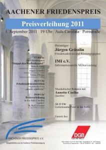 Aachener Friedenspreis 2011