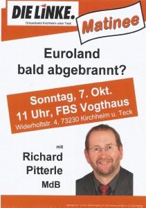 Euroland bald abgebrannt?